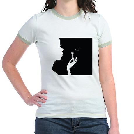The Original Dandelion Logo Jr. Ringer T-Shirt
