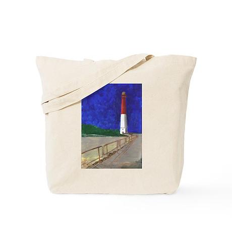 Old Barney Lighthouse Tote Bag