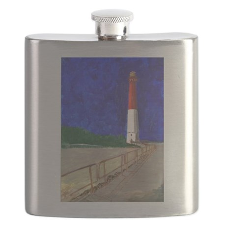 Old Barney Lighthouse Flask