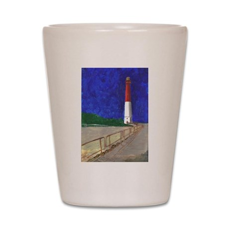 Old Barney Lighthouse Shot Glass