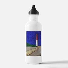Old Barney Lighthouse Water Bottle