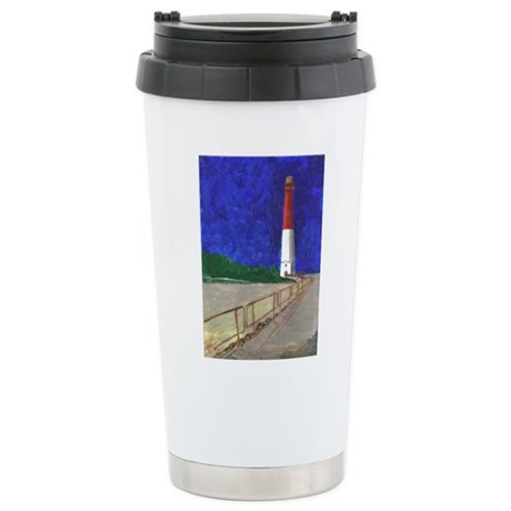 Old Barney Lighthouse Stainless Steel Travel Mug
