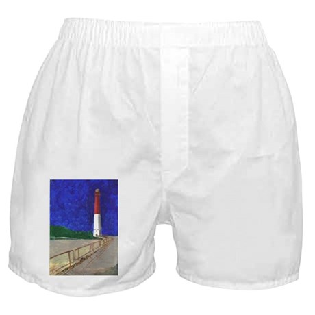 Old Barney Lighthouse Boxer Shorts