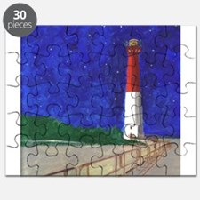 Old Barney Lighthouse Puzzle