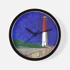 Old Barney Lighthouse Wall Clock
