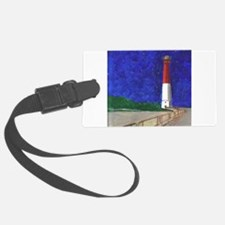 Old Barney Lighthouse Luggage Tag