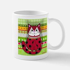 Ladybug Cat Mug