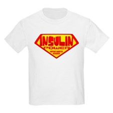 Insulin Power Kids T-Shirt
