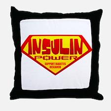 Insulin Power Throw Pillow