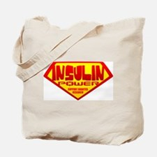 Insulin Power Tote Bag