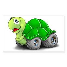 Speedy The Turtle Rectangle Bumper Stickers