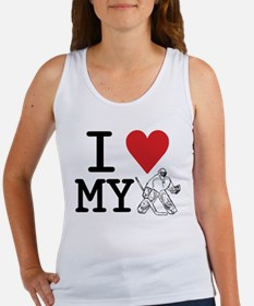 I Love My Goalie (hockey) Women's Tank Top