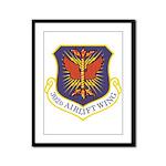 USAF 302 AW logo Framed Panel Print