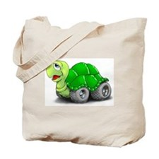 Speedy The Turtle Tote Bag