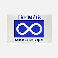 Métis Rectangle Magnet