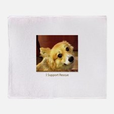 Support Rescue Throw Blanket
