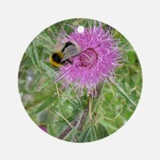 Scottish Thistle Ornament (Round)