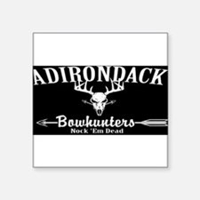 Adirondack Bow Hunters Inverted Square Sticker 3""
