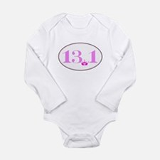 13.1 princess run Long Sleeve Infant Bodysuit