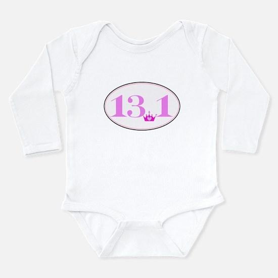 13.1 princess run Long Sleeve Infant Bodysuit