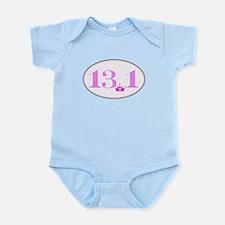 13.1 princess run Infant Bodysuit