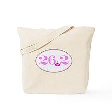 26.2 princess marathon logo Tote Bag