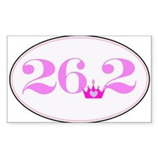 26.2 princess marathon logo Decal