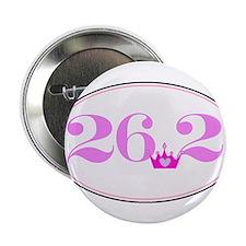 "26.2 princess marathon logo 2.25"" Button"