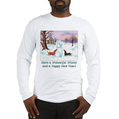 snoweiner10x10.jpg Long Sleeve T-Shirt