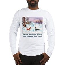 snoweiner10x10.jpg Long Sleeve T-Shirt