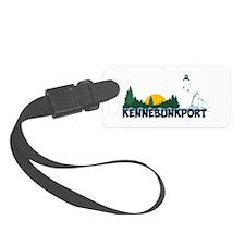 Kennebunkport ME - Beach Design. Luggage Tag