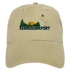 Kennebunkport ME - Beach Design. Baseball Cap