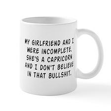 I don't believe in that bullshit Mug