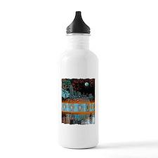 nashville tennessee art illustration Water Bottle