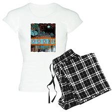 nashville tennessee art illustration Pajamas