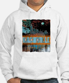 nashville tennessee art illustration Hoodie