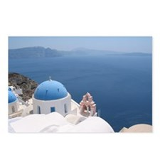 Santorini Postcards (Package of 8)