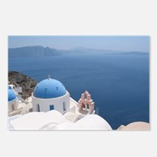 Santorini Postcards (Package of 8)