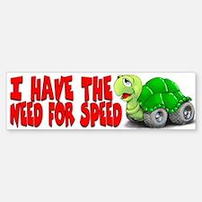 Turtle Bumper Bumper Bumper Sticker
