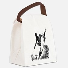 aSURFmoment bw #57.jpg Canvas Lunch Bag