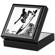 aSURFmoment bw #57.jpg Keepsake Box