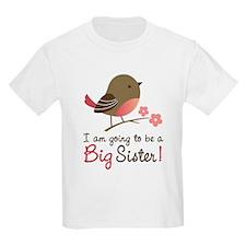 Big Sister to be - Mod Bird T-Shirt