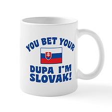 Funny Slovak Dupa Mug