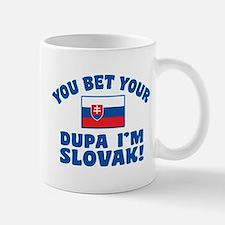 Funny Slovak Dupa Small Small Mug