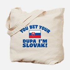 Funny Slovak Dupa Tote Bag