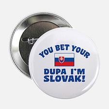 """Funny Slovak Dupa 2.25"""" Button"""