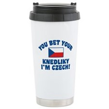 Funny Czech Knedliky Travel Mug