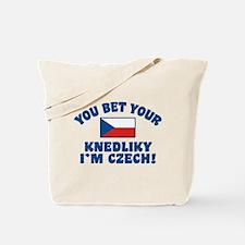 Funny Czech Knedliky Tote Bag
