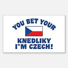 Funny Czech Knedliky Decal