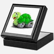 Speedy The Turtle Keepsake Box